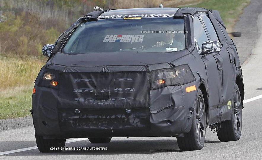 2015 Ford Edges (spy photo) - Slide 3