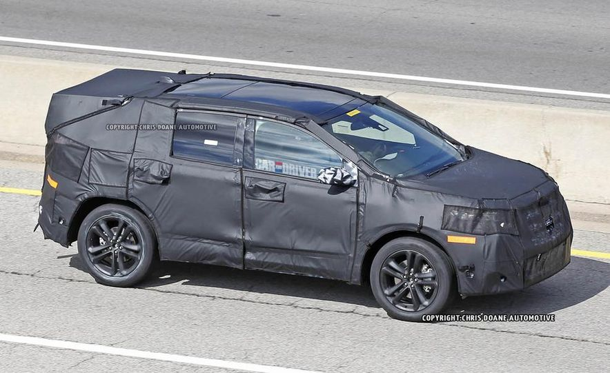 2015 Ford Edges (spy photo) - Slide 7