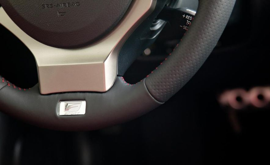 2014 Lexus IS250 F Sport AWD - Slide 23