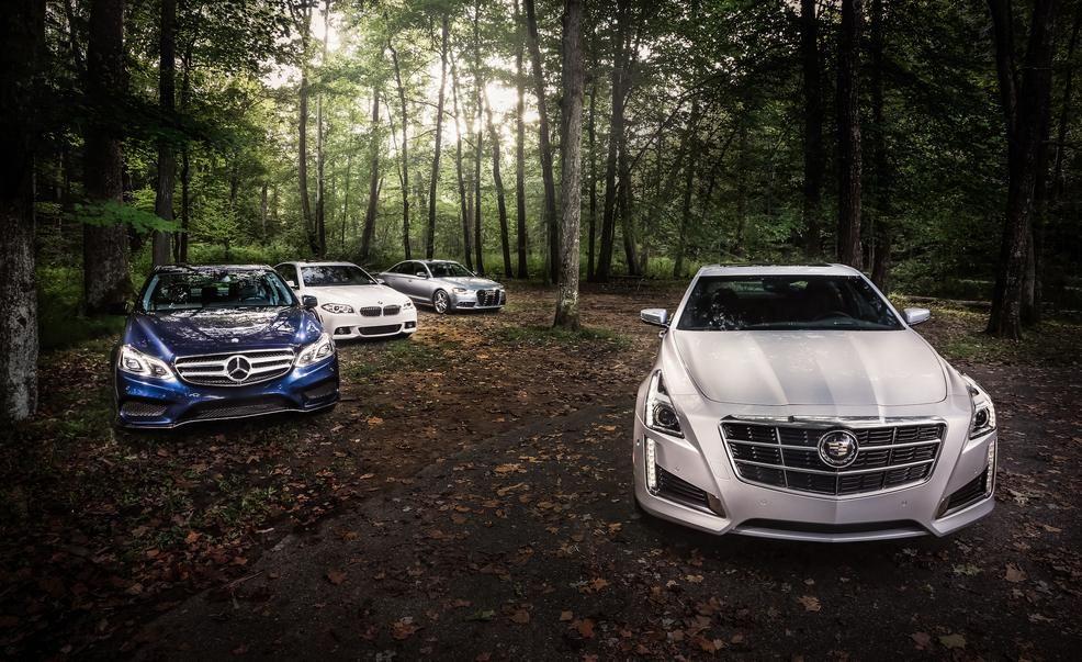 Cadillac CTS Vs Audi A BMW I Mercedes E - 2014 bmw 535i price