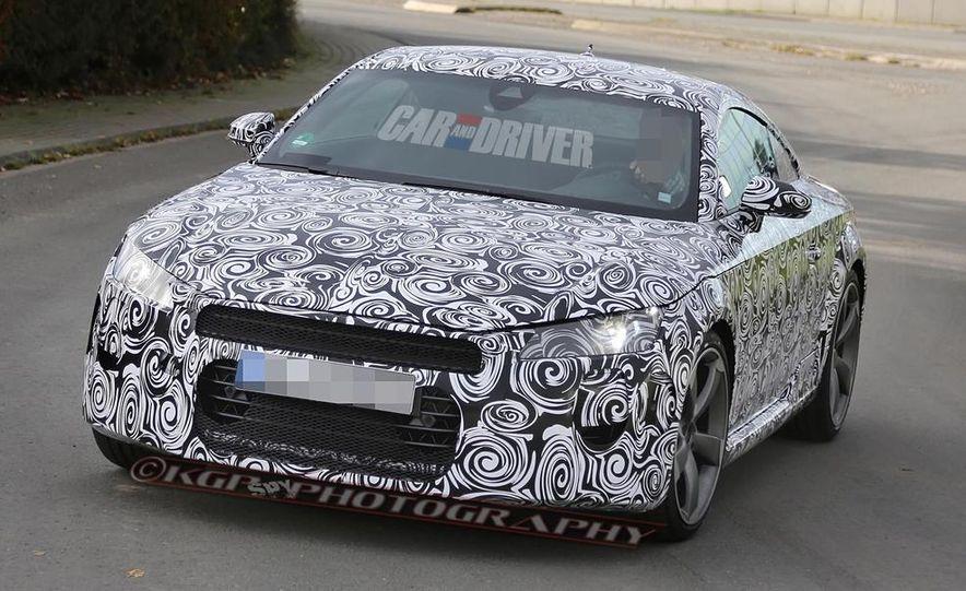 2015 Audi TT (spy photo) - Slide 3