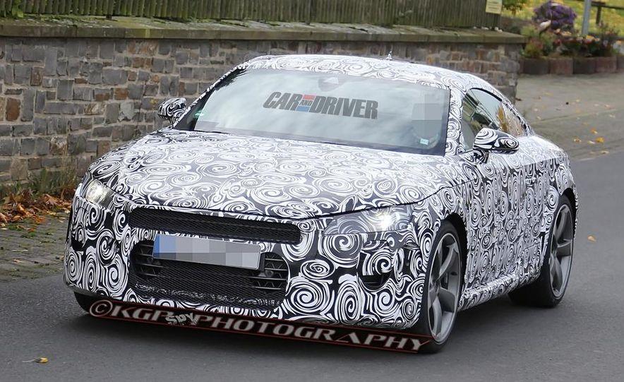 2015 Audi TT (spy photo) - Slide 4