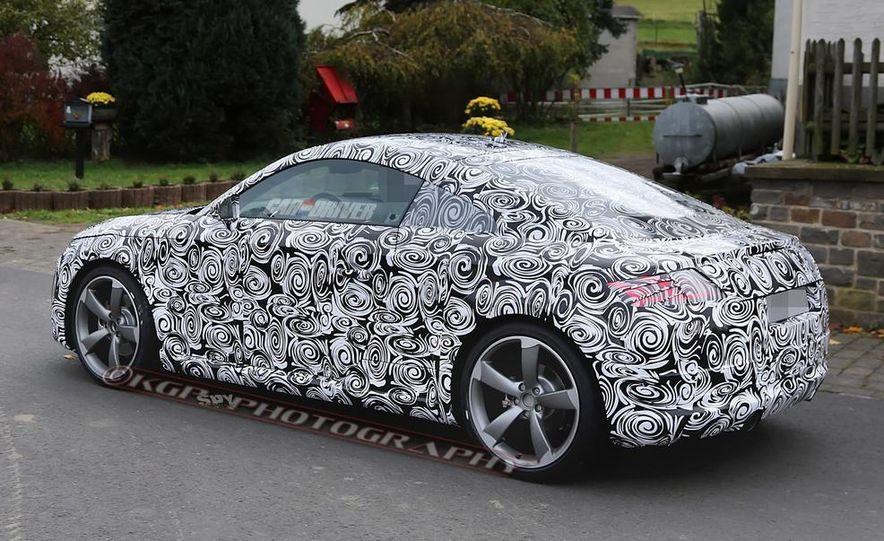 2015 Audi TT (spy photo) - Slide 11