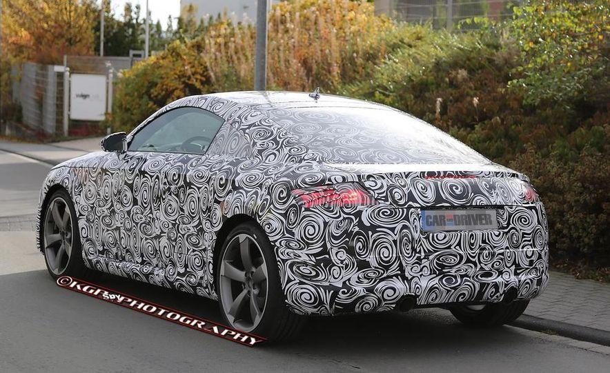 2015 Audi TT (spy photo) - Slide 13