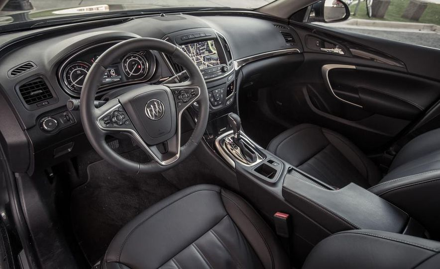 2014 Buick Regal GS AWD - Slide 47
