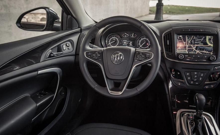 2014 Buick Regal GS AWD - Slide 54