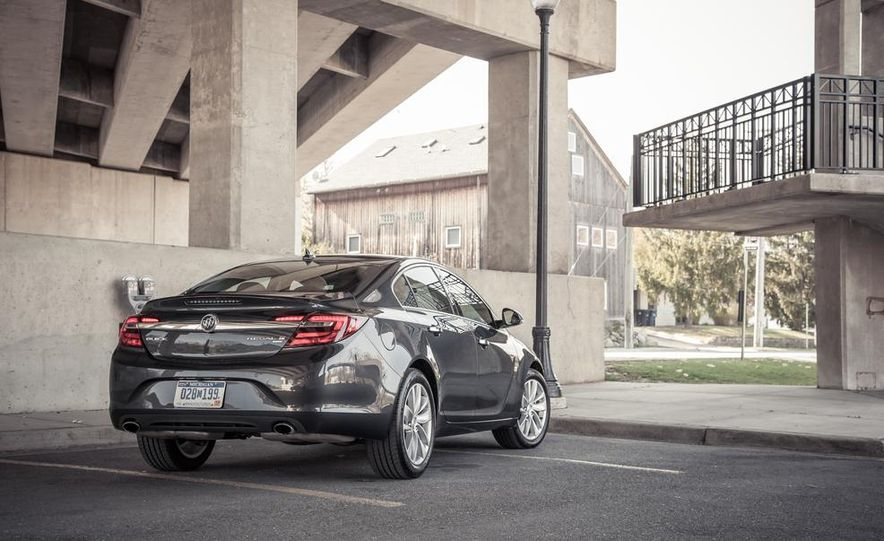 2014 Buick Regal GS AWD - Slide 36