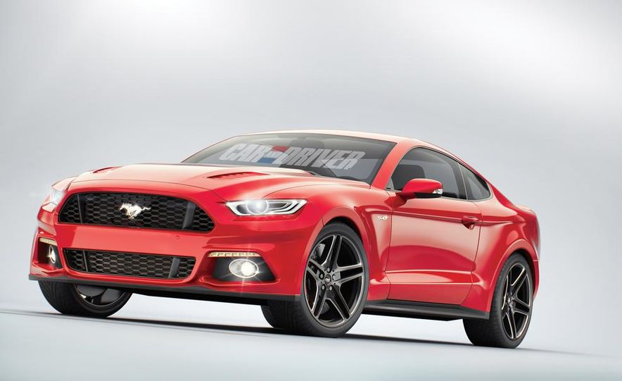 2015 Ford Mustang (artist's rendering) - Slide 1