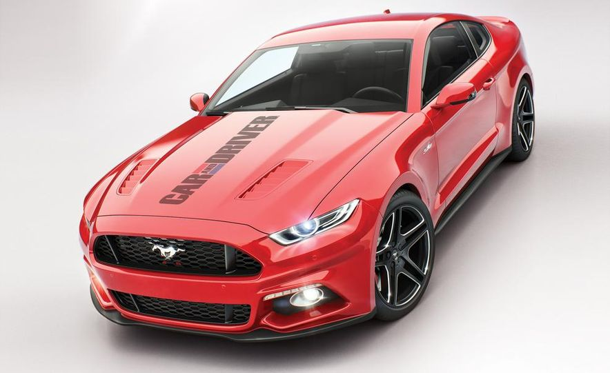 2015 Ford Mustang (artist's rendering) - Slide 2