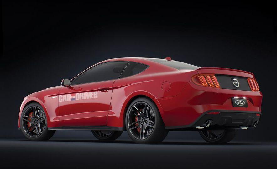 2015 Ford Mustang (artist's rendering) - Slide 4