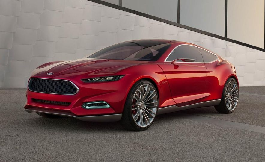 2015 Ford Mustang (artist's rendering) - Slide 48