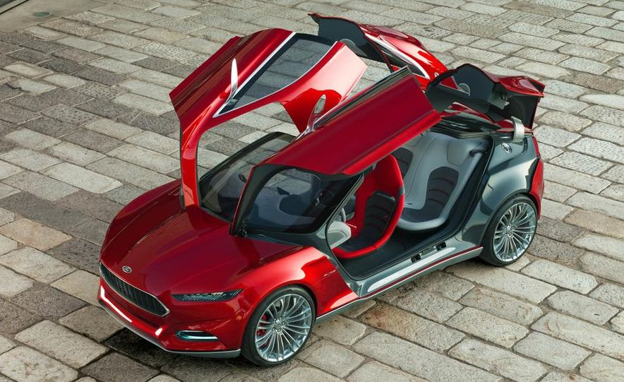 2015 Ford Mustang (artist's rendering) - Slide 57