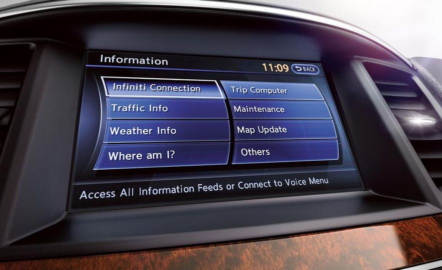 2014 Infiniti QX60 hybrid - Slide 33