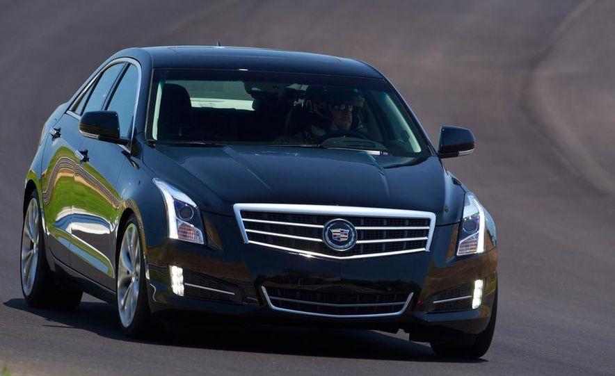 2015 Cadillac ATS-V coupe (spy photo) - Slide 41