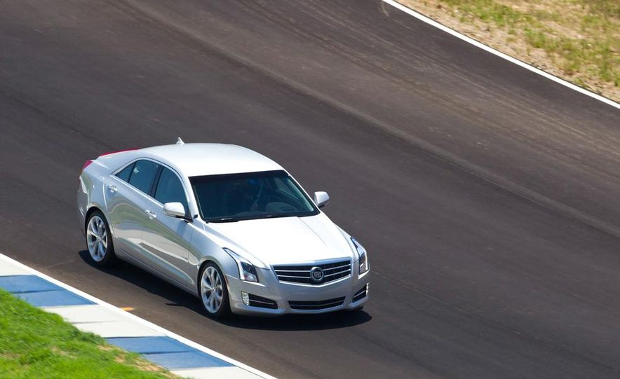 2015 Cadillac ATS-V coupe (spy photo) - Slide 48