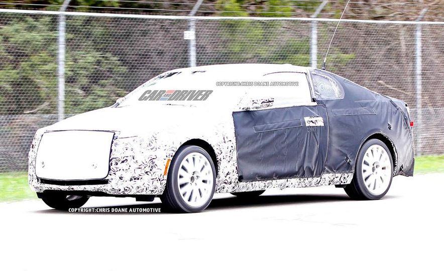 2015 Cadillac ATS-V coupe (spy photo) - Slide 17