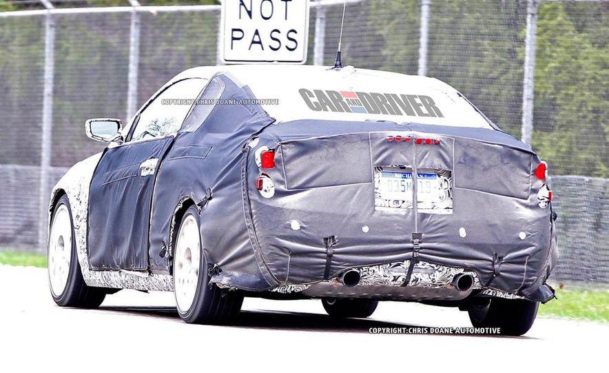 2015 Cadillac ATS-V coupe (spy photo) - Slide 24