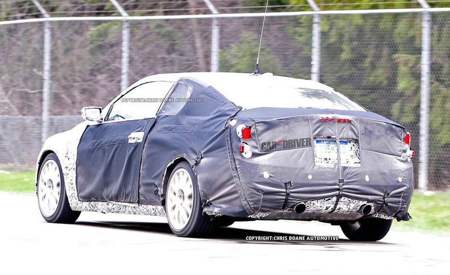 2015 Cadillac ATS-V coupe (spy photo) - Slide 25