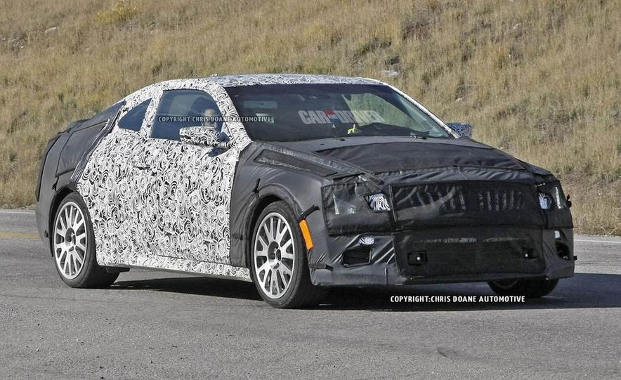 2015 Cadillac ATS-V coupe (spy photo) - Slide 1