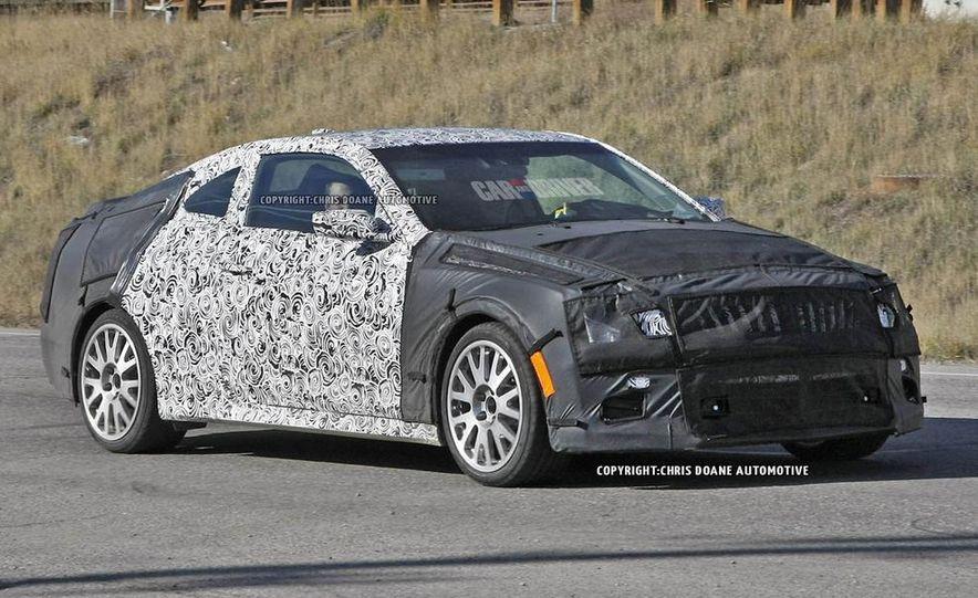 2015 Cadillac ATS-V coupe (spy photo) - Slide 2