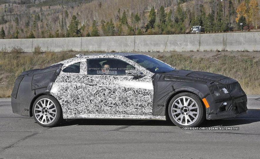 2015 Cadillac ATS-V coupe (spy photo) - Slide 3