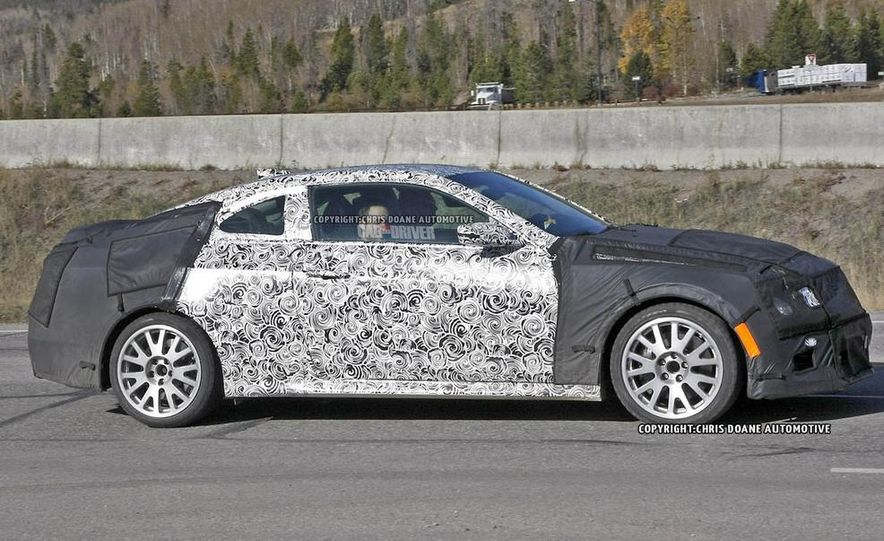 2015 Cadillac ATS-V coupe (spy photo) - Slide 4