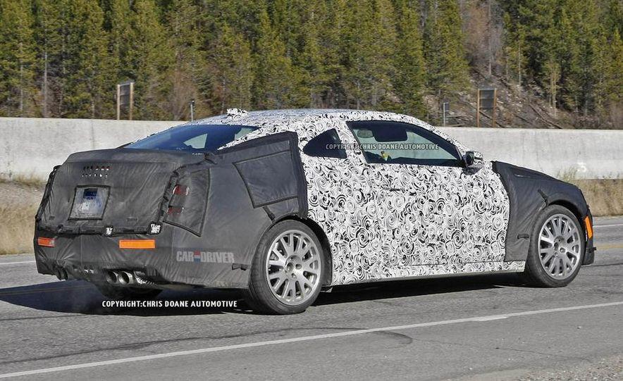 2015 Cadillac ATS-V coupe (spy photo) - Slide 6
