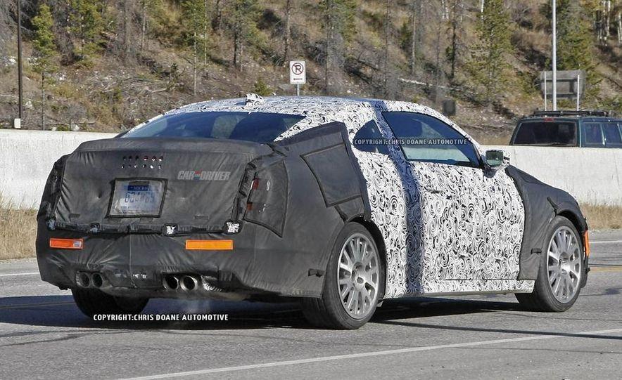 2015 Cadillac ATS-V coupe (spy photo) - Slide 7