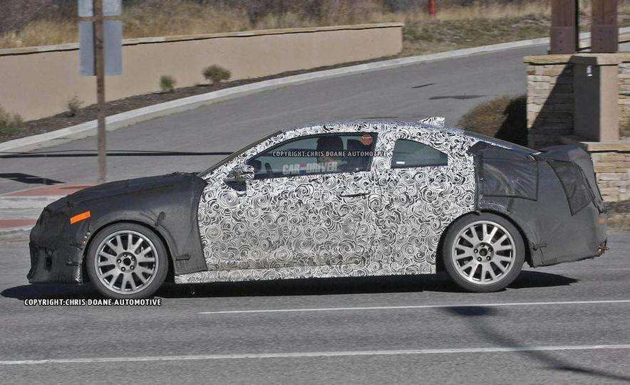 2015 Cadillac ATS-V coupe (spy photo) - Slide 10
