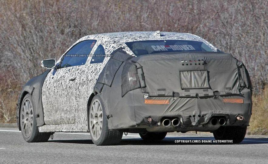 2015 Cadillac ATS-V coupe (spy photo) - Slide 11