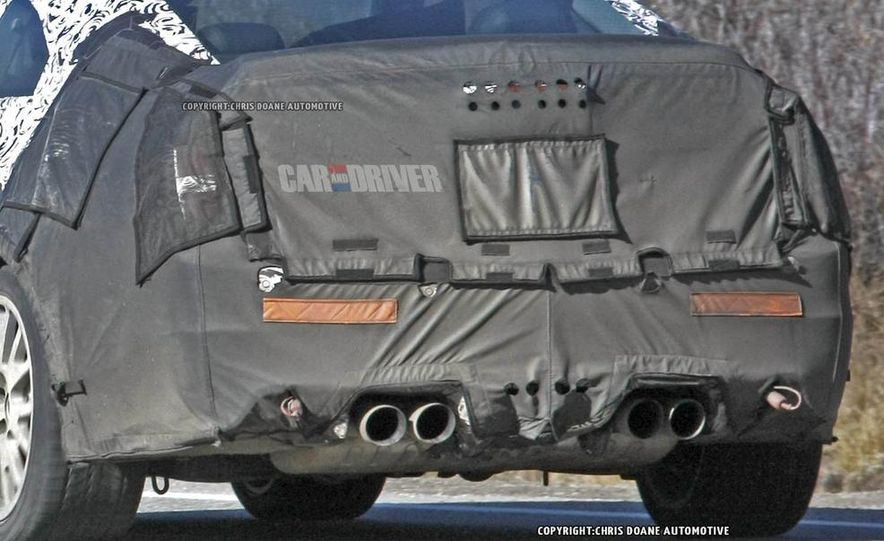 2015 Cadillac ATS-V coupe (spy photo) - Slide 14