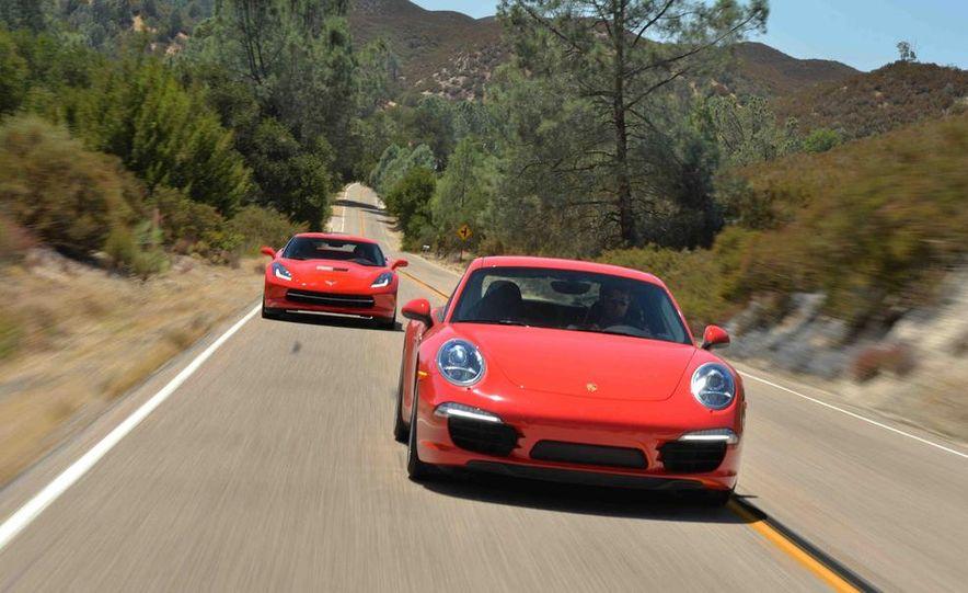2014 Chevrolet Corvette Stingray and 2014 Porsche 911 Carrera S - Slide 7