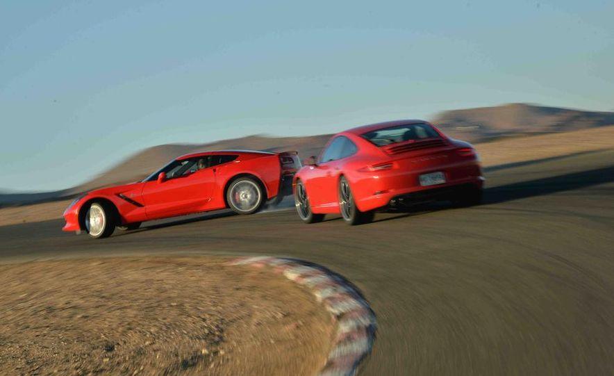 2014 Chevrolet Corvette Stingray and 2014 Porsche 911 Carrera S - Slide 9
