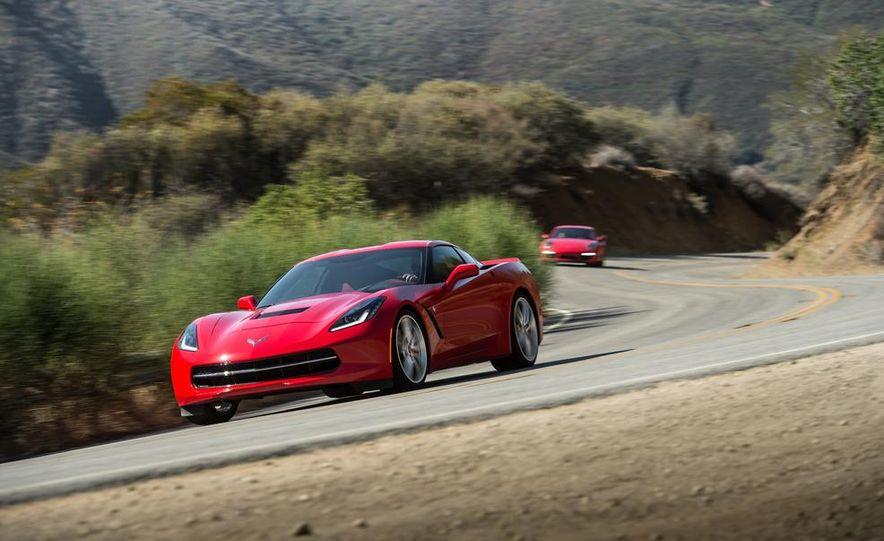 2014 Chevrolet Corvette Stingray and 2014 Porsche 911 Carrera S - Slide 15
