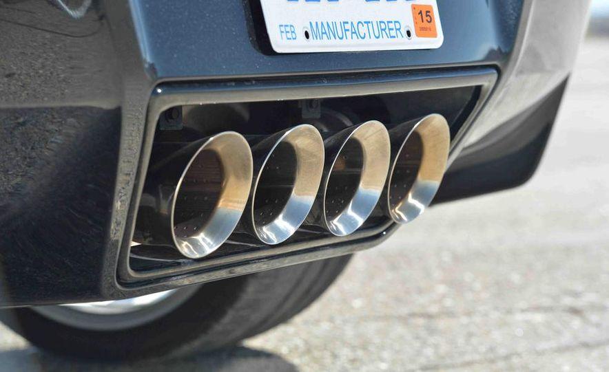 2014 Chevrolet Corvette Stingray and 2014 Porsche 911 Carrera S - Slide 30