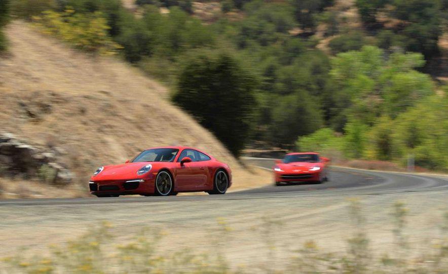 2014 Chevrolet Corvette Stingray and 2014 Porsche 911 Carrera S - Slide 2