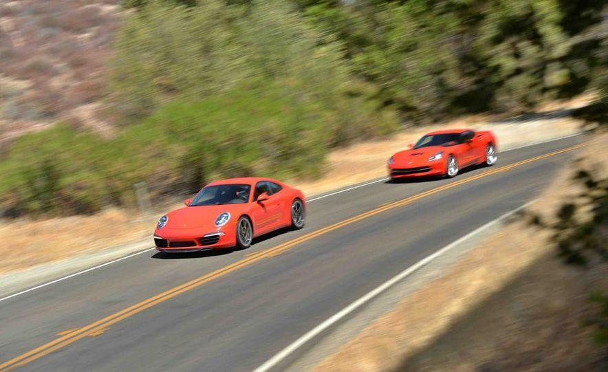 2014 Chevrolet Corvette Stingray and 2014 Porsche 911 Carrera S - Slide 4
