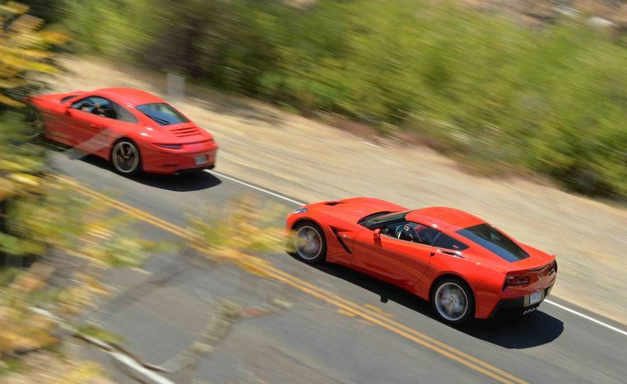 2014 Chevrolet Corvette Stingray and 2014 Porsche 911 Carrera S - Slide 5