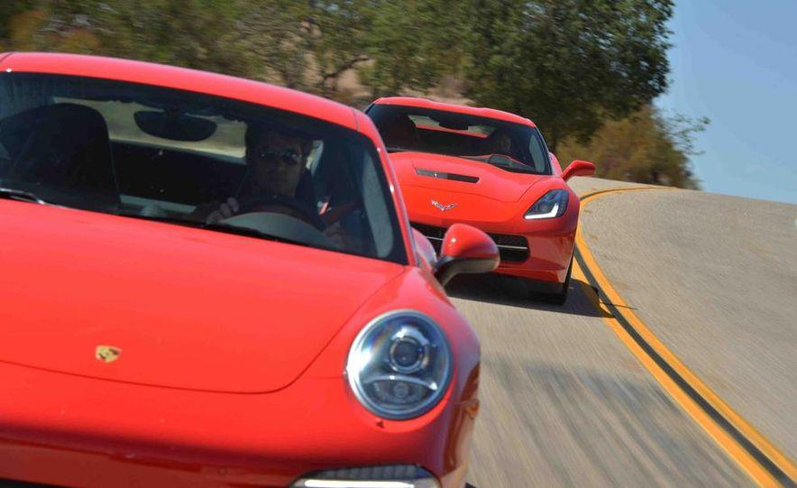2014 Chevrolet Corvette Stingray and 2014 Porsche 911 Carrera S - Slide 6