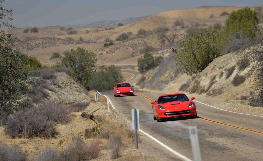 2014 Chevrolet Corvette Stingray and 2014 Porsche 911 Carrera S - Slide 8
