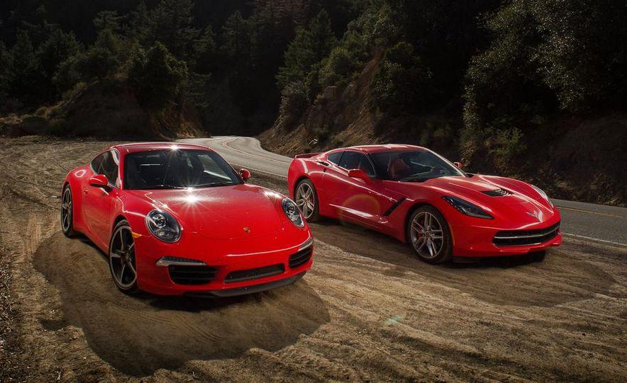 2014 Chevrolet Corvette Stingray and 2014 Porsche 911 Carrera S - Slide 11