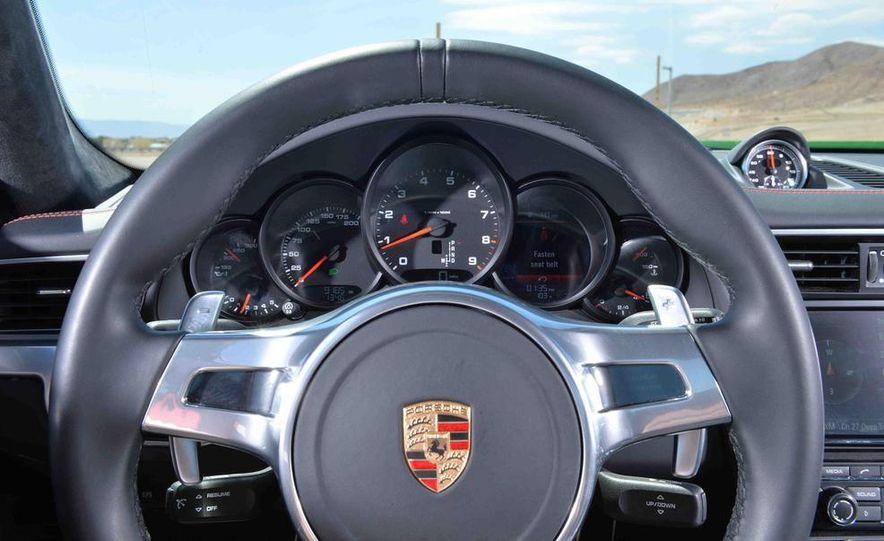 2014 Chevrolet Corvette Stingray and 2014 Porsche 911 Carrera S - Slide 60