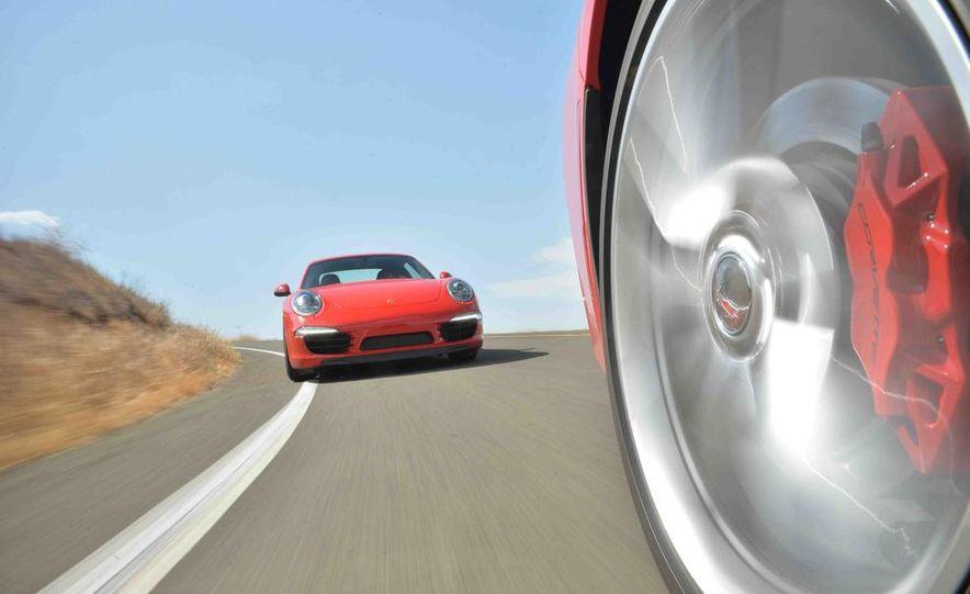 2014 Chevrolet Corvette Stingray and 2014 Porsche 911 Carrera S - Slide 47