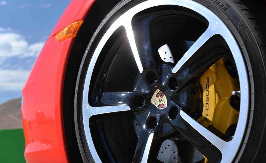 2014 Chevrolet Corvette Stingray and 2014 Porsche 911 Carrera S - Slide 57