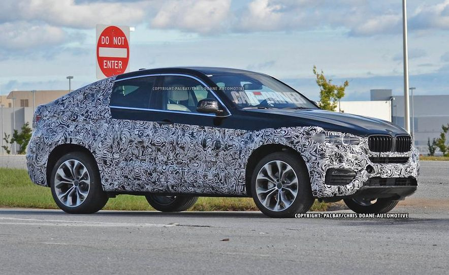 2015 BMW X6 (spy photo) - Slide 1