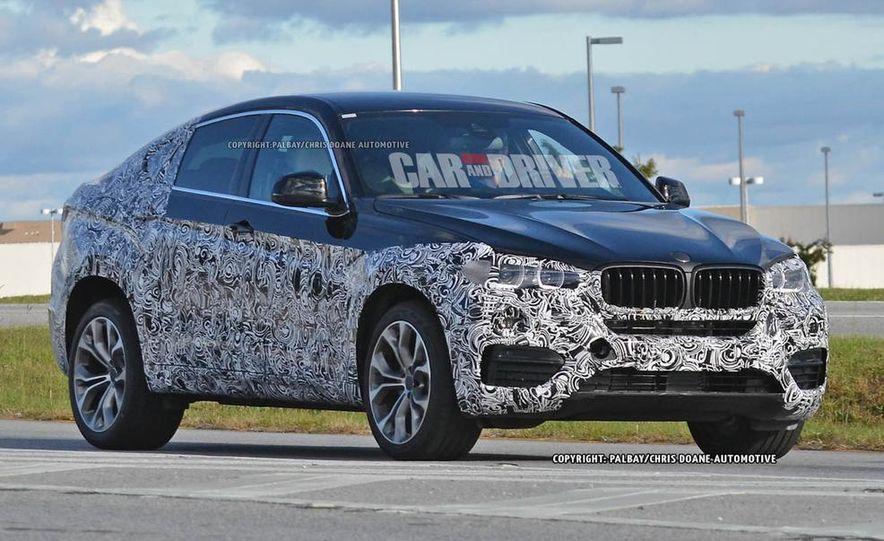 2015 BMW X6 (spy photo) - Slide 2