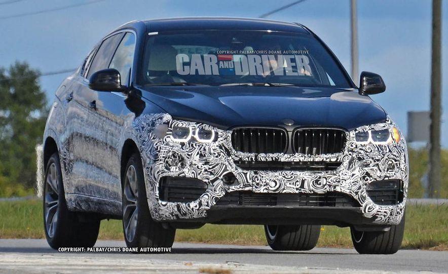 2015 BMW X6 (spy photo) - Slide 4