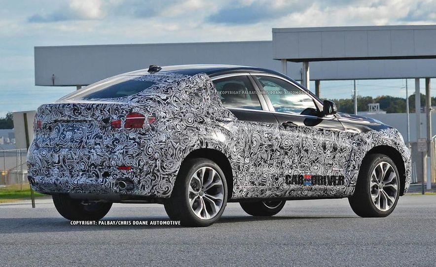 2015 BMW X6 (spy photo) - Slide 9