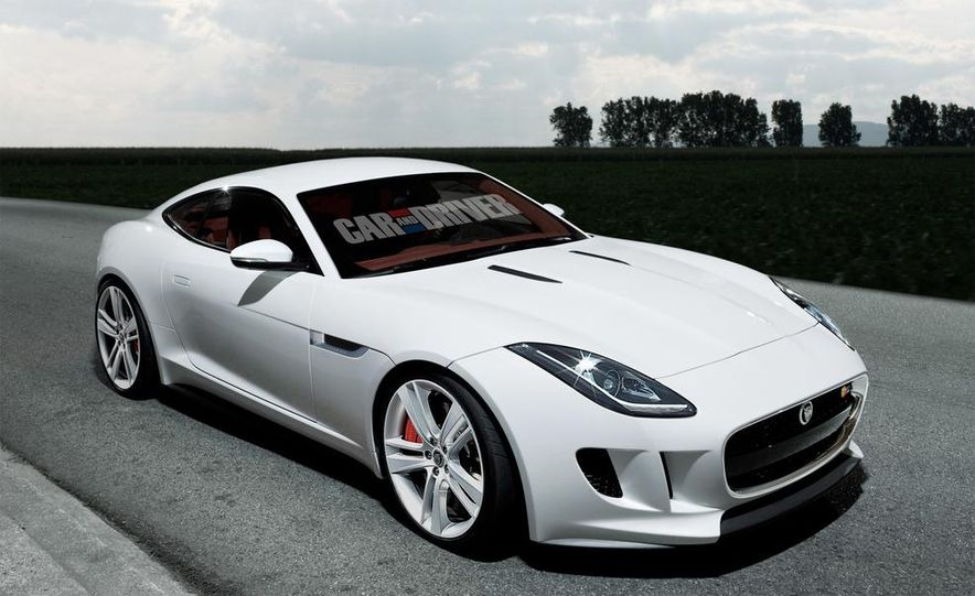 2015 Jaguar F-type coupe (artist's rendering) - Slide 1