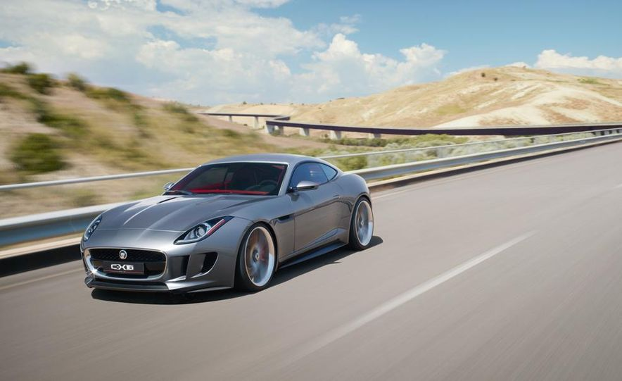 2015 Jaguar F-type coupe (artist's rendering) - Slide 9